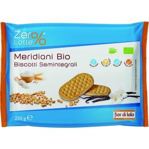 Meridiani Biscotti Semintegrali 250gr Fior di Loto