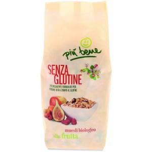 Muesli alla Frutta Senza Glutine 325gr Più Bene