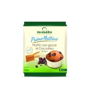 Muffin con gocce di cioccolato 180g VERDE&BIO