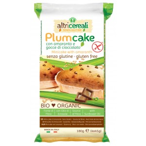 Plumcake di amaranto con gocce di cioccolato 4x45g PROBIOS