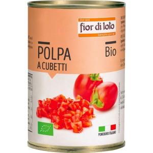 Pomodori a Cubetti 400g Fior di Loto