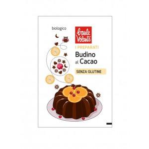 Preparato in polvere per Budino al Cioccolato Vegan Senza Glutine 31g BAULE VOLANTE