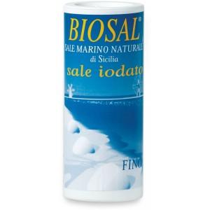 Sale marino iodato fino con dosatore 250gr Biosal