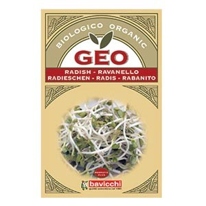 Semi di ravanello da germogliare 30g GEO