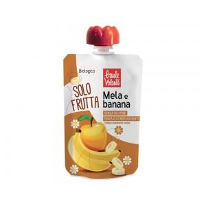 Solo Frutta Mela e Banana 100g Baule Volante