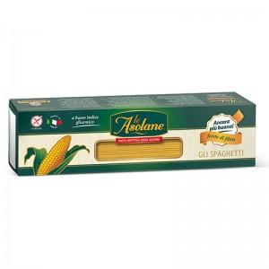 Spaghetti di mais senza glutine senza uovo e lattosio 500g Le Asolane
