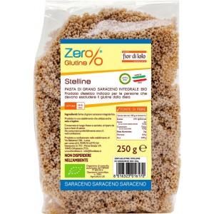 Stelline di Grano Saraceno 250gr Zer% Glutine Fior di Loto