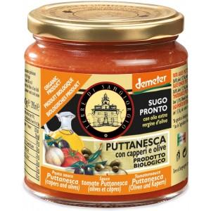 Sugo pronto alla Puttanesca con Capperi ed Olive 300gr Terre di San Giorgio