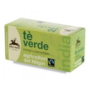 Tè verde biologico fair trade 35g ALCE NERO