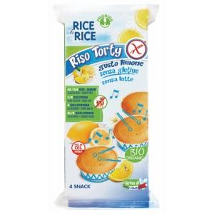 Tortini di riso al limone 4x45g RICE&RICE