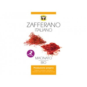 Zafferano italiano macinato prodotto in Sardegna 2x0,075g SIRISSI