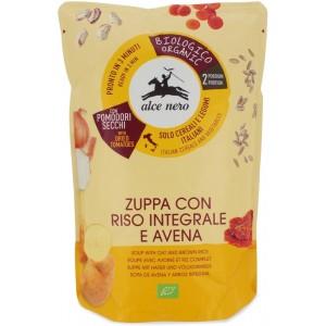 Zuppa con avena e riso integrale 500gr Alce Nero