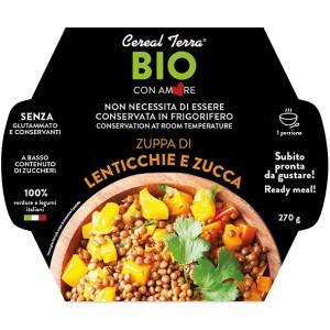 Zuppa di lenticchie e zucca 270gr Cereal Terra