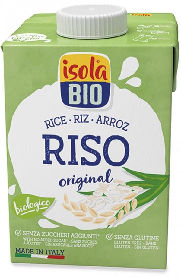 Bevanda vegetale di riso senza zucchero 500ml ISOLABIO