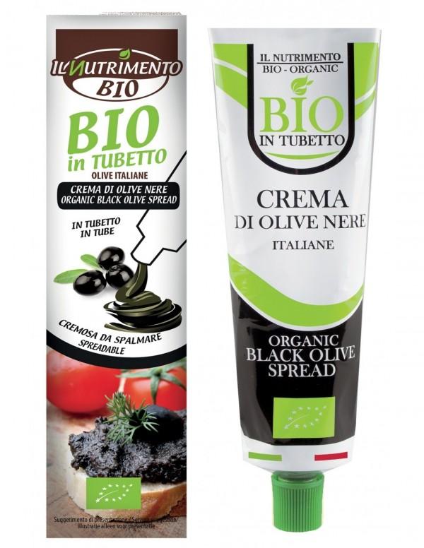 Crema di olive nere 150g Il Nutrimento Bio