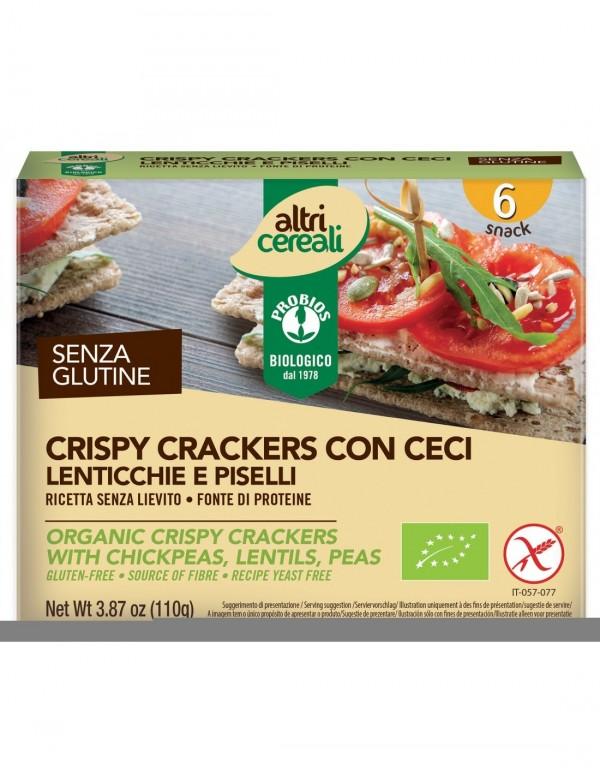Crispy Crackers con Ceci 110g Probios