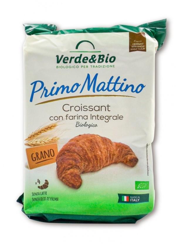 Croissant vegano con farina integrale 160g Verde & Bio