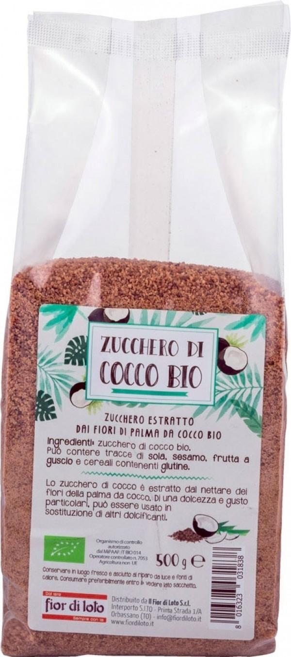 Zucchero di cocco 500g Fior di loto