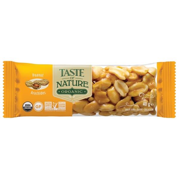 Barretta alle Arachidi 40g Taste Of Nature