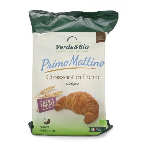 Croissant Vegano di Farro con Olio di Girasole e Burro di Karitè 160g Verde&Bio