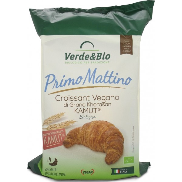 Croissant Vegano di Grano Khorasan Kamut 160g Verde&Bio