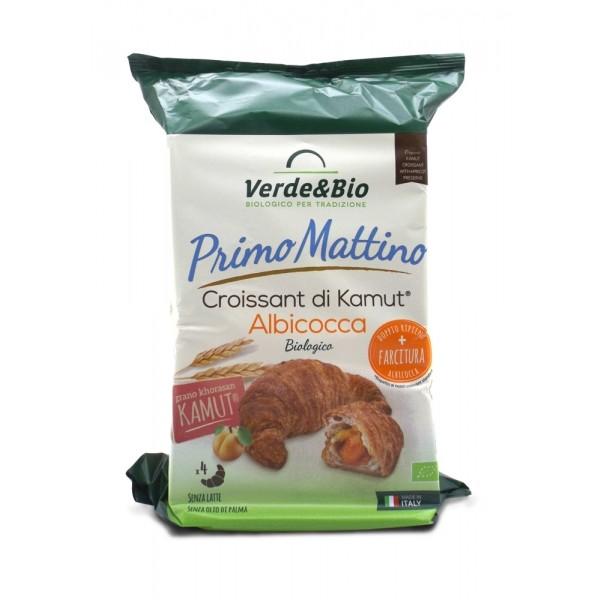 Croissant Vegano di Kamut all'Albicocca 240gr Verde&Bio