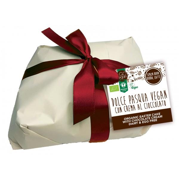 Dolce di Pasqua Vegan con Crema di Cioccolato 650g PROBIOS