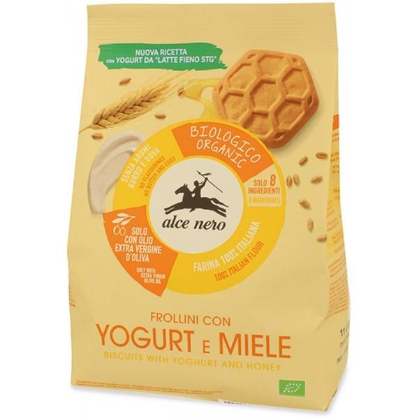 Frollini con Yogurt e Miele 250gr Alce Nero