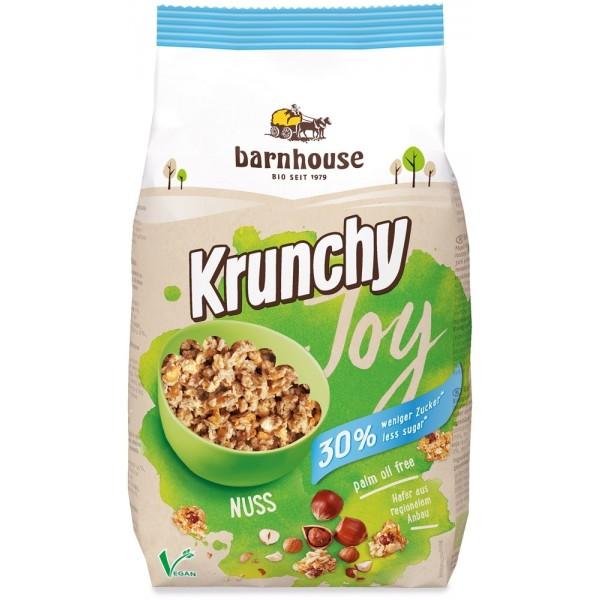 Granola alla Nocciola Krunchy Joy Nuts 375g BARNHOUSE