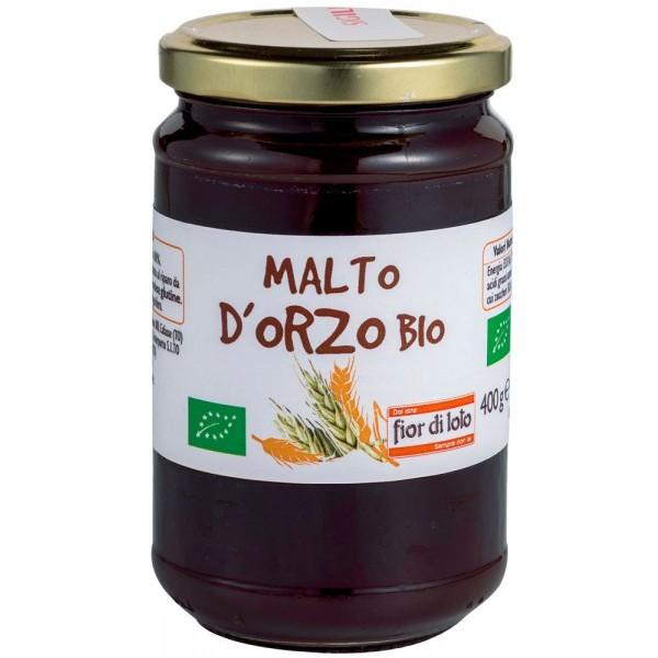 Malto d'Orzo 400g Fior di Loto