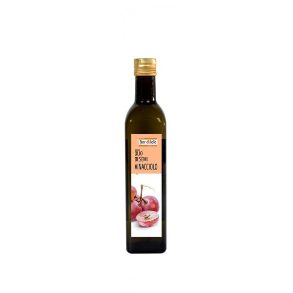 Olio di Semi di Vinacciolo 500ml Fior di Loto