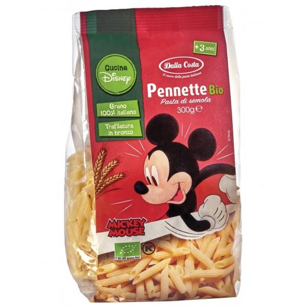 Pennette di Frumento Disney Pasta per Bambini 300g Dalla Costa