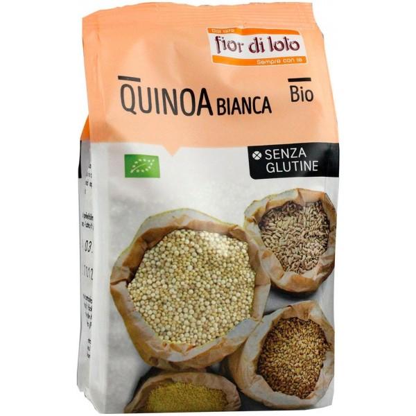 Quinoa Bianca 400g Fior di Loto