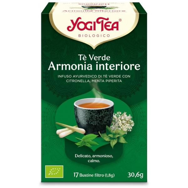 Yogi Tea Te verde armonia interiore 30,6g YOGI TEA