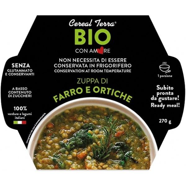 Zuppa di Farro e Ortiche 270gr Cereal Terra