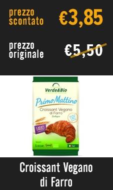 Croissant Vegan di Farro
