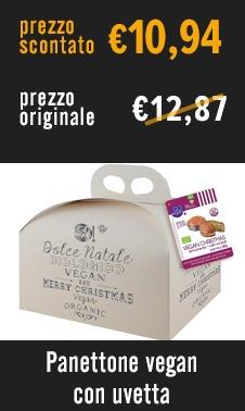 Panettone Vegan con uvetta